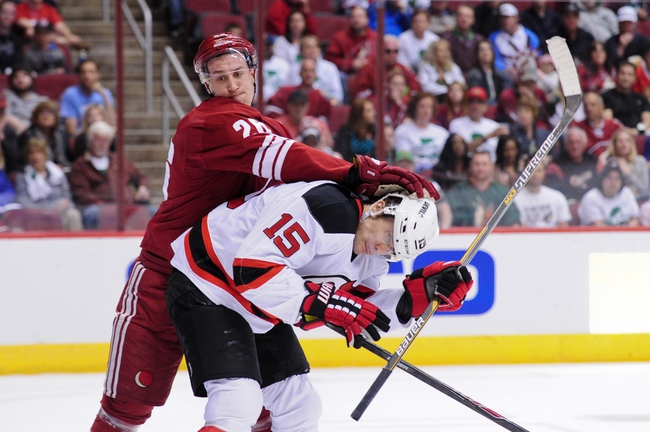 Coyotes at Devils - 10/20/15 NHL Pick, Odds, and Prediction