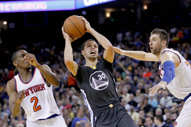 New York Knicks vs. Golden State Warriors - 1/31/16 NBA Pick, Odds, and Prediction