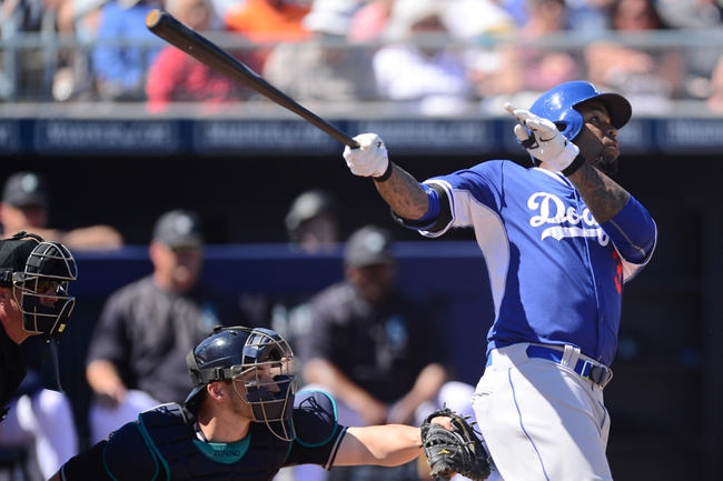 Dodgers vs. Mariners - 4/13/15 MLB Pick, Odds, and Prediction