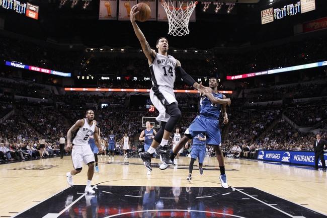 Minnesota Timberwolves vs. San Antonio Spurs - 12/23/15 NBA Pick, Odds, and Prediction
