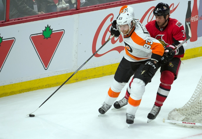 Flyers vs. Senators - 4/11/15 NHL Pick, Odds, and Prediction