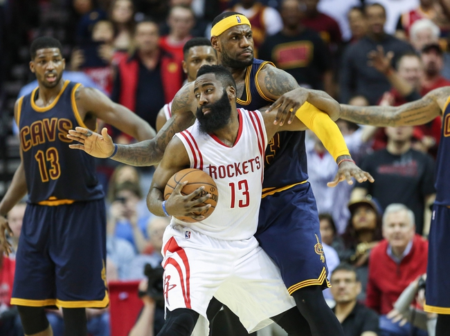 Houston Rockets vs. Cleveland Cavaliers - 1/15/16 NBA Pick, Odds, and Prediction