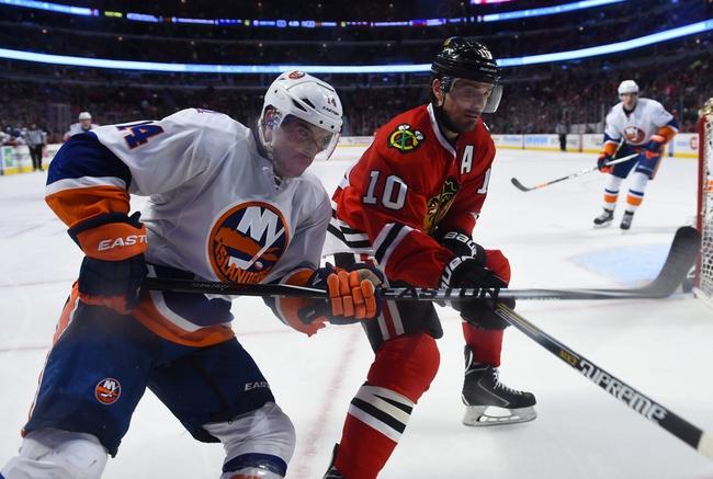 New York Islanders vs. Chicago Blackhawks - 10/9/15 NHL Pick, Odds, and Prediction