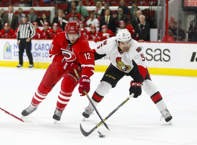 Carolina Hurricanes vs. Ottawa Senators - 11/7/15 NHL Pick, Odds, and Prediction
