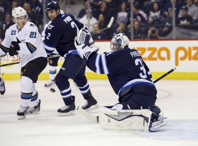 Sharks vs. Jets - 1/2/16 NHL Pick, Odds, and Prediction