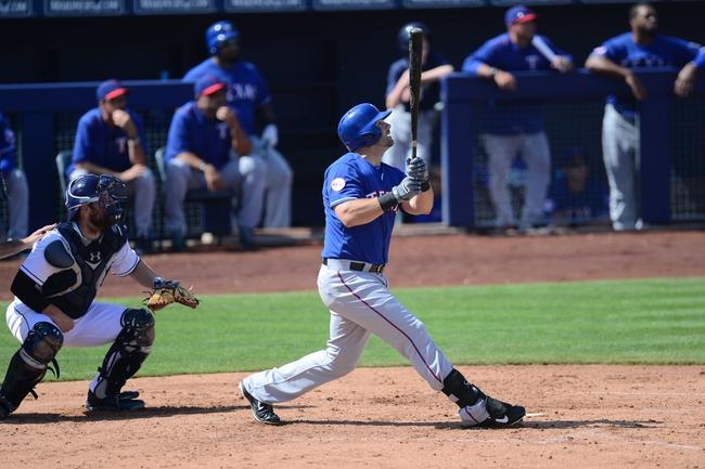 Padres at Rangers - 7/10/15 MLB Pick, Odds, and Prediction
