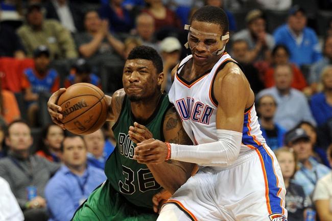 Celtics at Thunder - 11/15/15 NBA Pick, Odds, and Prediction