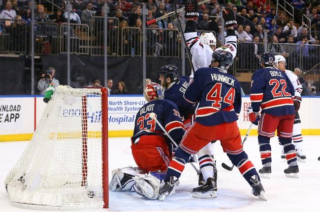 Chicago Blackhawks vs. New York Rangers - 10/7/15 NHL Pick, Odds, and Prediction