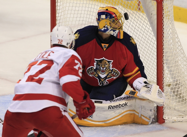 Detroit Red Wings vs. Florida Panthers - 11/29/15 NHL Pick, Odds, and Prediction