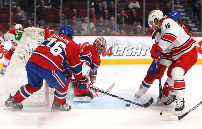 Carolina Hurricanes vs. Montreal Canadiens - 12/5/15 NHL Pick, Odds, and Prediction