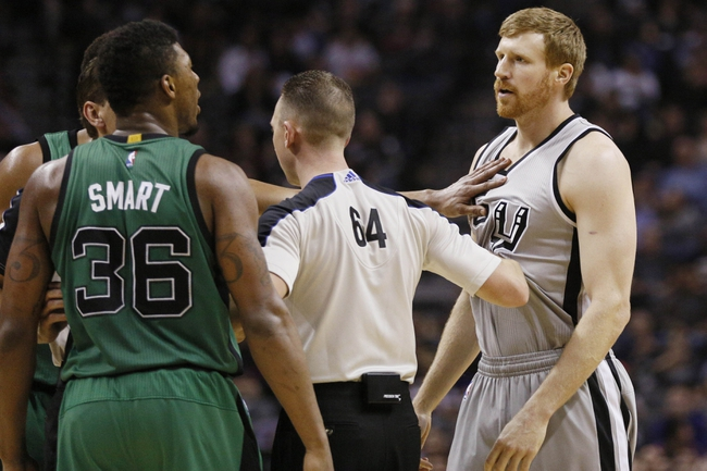 Spurs at Celtics - 11/1/15 NBA Pick, Odds, and Prediction