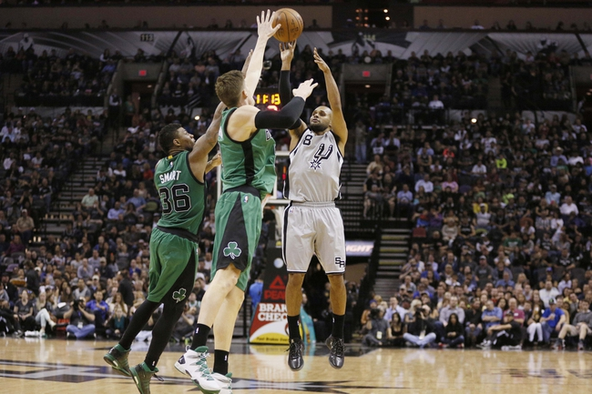 Boston Celtics vs. San Antonio Spurs - 11/1/15 NBA Pick, Odds, and Prediction