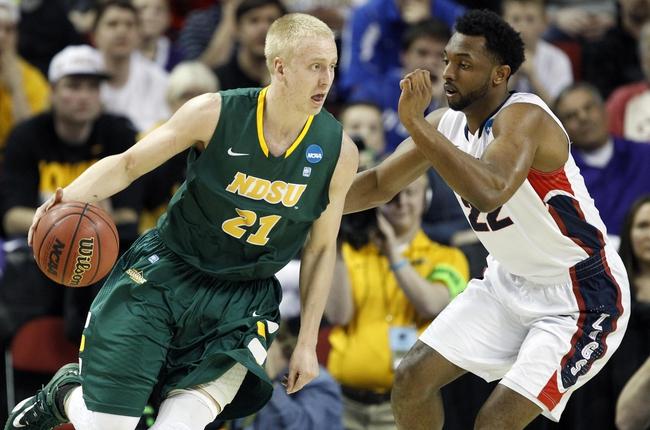 Idaho State vs. North Dakota State - 12/21/15 College Basketball Pick, Odds, and Prediction