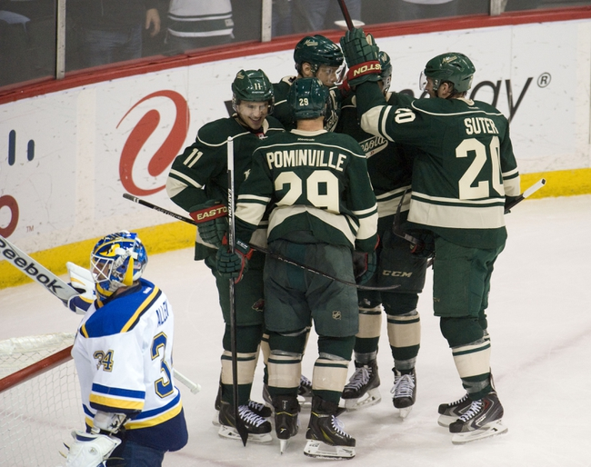 St. Louis Blues vs. Minnesota Wild - 4/11/15 NHL Pick, Odds, and Prediction
