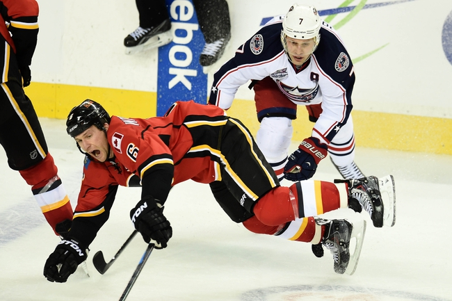 Blue Jackets vs. Flames - 1/21/16 NHL Pick, Odds, and Prediction