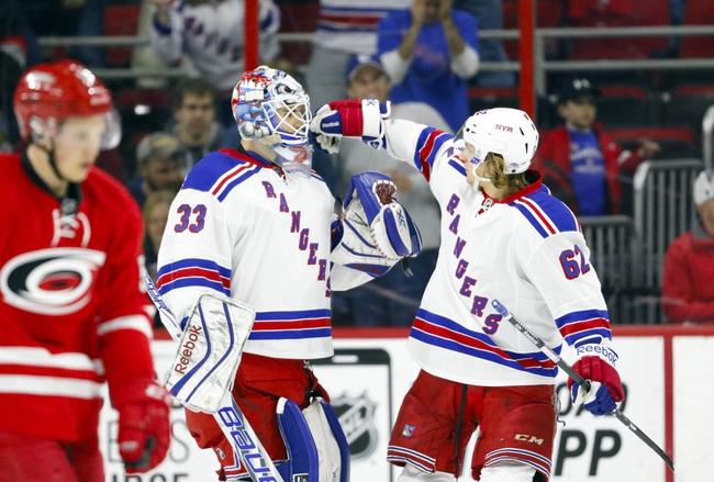 New York Rangers vs. Carolina Hurricanes - 11/10/15 NHL Pick, Odds, and Prediction