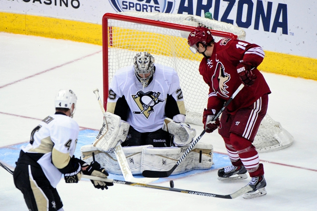 Penguins vs. Coyotes - 3/28/15 NHL Pick, Odds, and Prediction