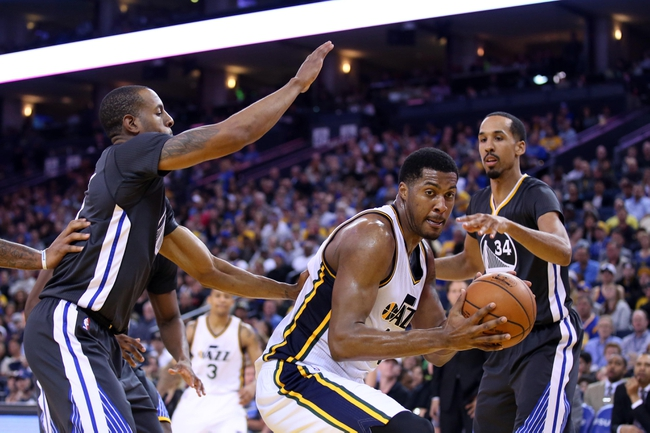 Jazz vs. Warriors - 11/30/15 NBA Pick, Odds, and Prediction
