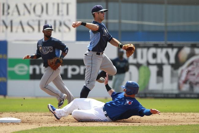 Blue Jays vs. Rays - 4/13/15 MLB Pick, Odds, and Prediction