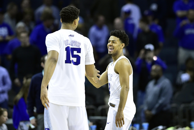 Utah vs. Duke - 3/27/15 NCAA Tournament Pick, Odds, and Prediction