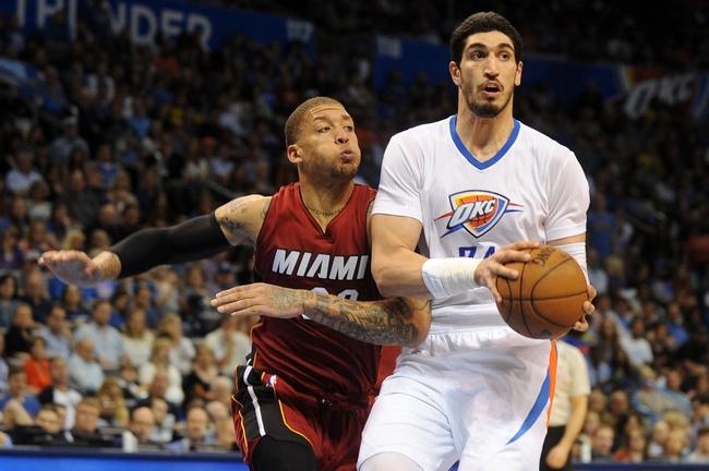 Miami Heat vs. Oklahoma City Thunder - 12/3/15 NBA Pick, Odds, and Prediction