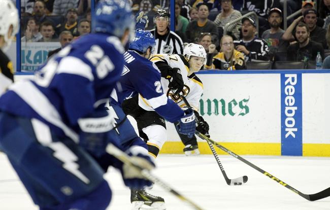 Tampa Bay Lightning vs. Boston Bruins - 4/11/15 NHL Pick, Odds, and Prediction