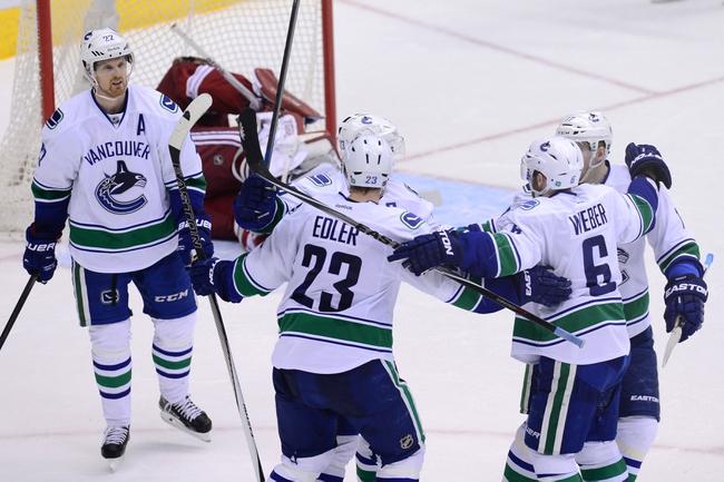 Vancouver Canucks vs. Arizona Coyotes - 4/9/15 NHL Pick, Odds, and Prediction