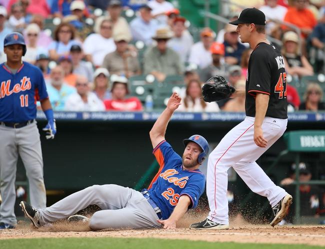 New York Mets vs. Miami Marlins - 4/16/15 MLB Pick, Odds, and Prediction