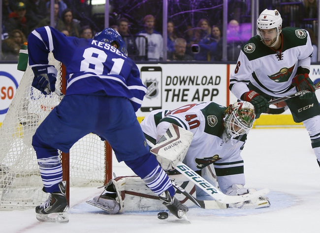Minnesota Wild vs. Toronto Maple Leafs - 12/3/15 NHL Pick, Odds, and Prediction