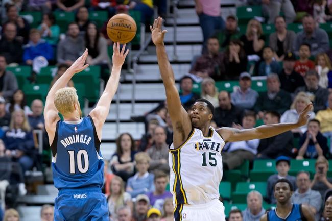 Timberwolves vs. Jazz - 3/30/15 NBA Pick, Odds, and Prediction