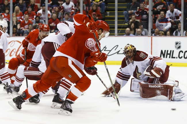 Arizona Coyotes vs. Detroit Red Wings - 1/14/16 NHL Pick, Odds, and Prediction