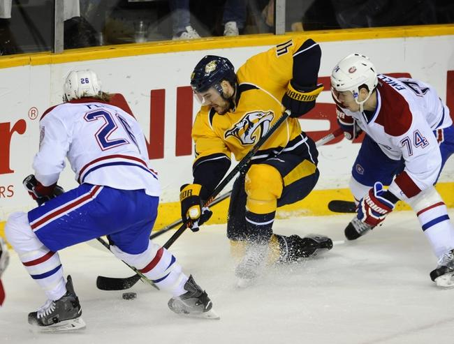 Nashville Predators vs. Montreal Canadiens - 12/21/15 NHL Pick, Odds, and Prediction