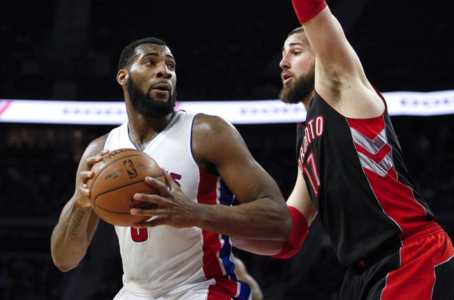 Pistons at Raptors - 1/30/16 NBA Pick, Odds, and Prediction
