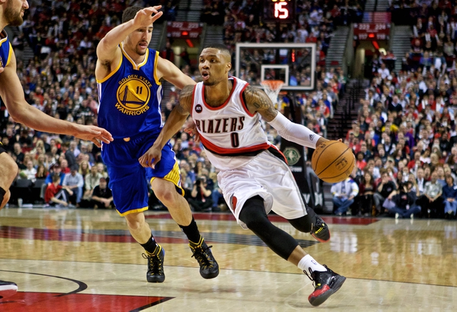 Golden State Warriors vs. Portland Trail Blazers - 4/9/15 NBA Pick, Odds, and Prediction