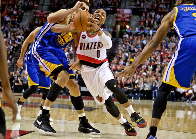 Trail Blazers at Warriors - 4/9/15 NBA Pick, Odds, and Prediction