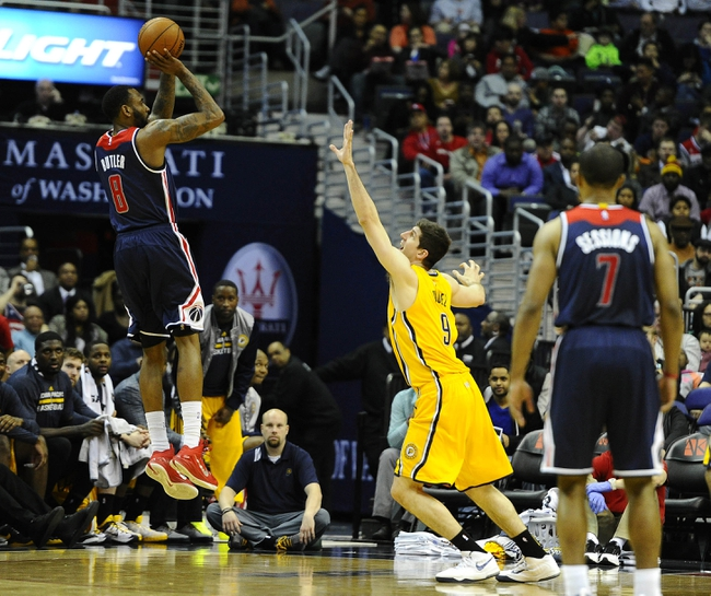 Wizards at Pacers - 4/14/15 NBA Pick, Odds, and Prediction