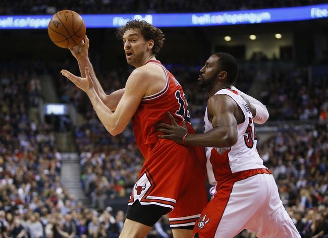 Chicago Bulls vs. Toronto Raptors - 12/28/15 NBA Pick, Odds, and Prediction