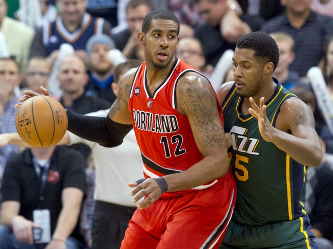 Jazz at Trail Blazers - 4/11/15 NBA Pick, Odds, and Prediction