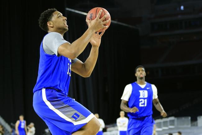 Gonzaga vs. Duke - 3/29/15 NCAA Tournament Pick, Odds, and Prediction