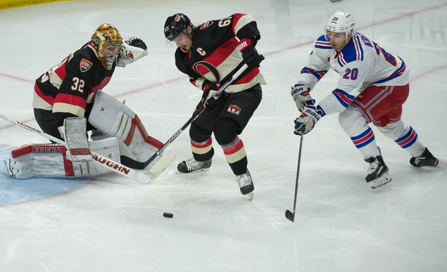 Rangers vs. Senators - 4/9/15 NHL Pick, Odds, and Prediction