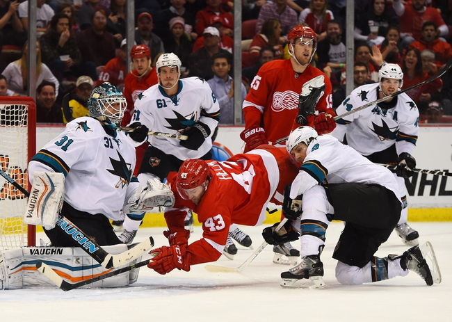 Sharks vs. Red Wings - 1/7/16 NHL Pick, Odds, and Prediction