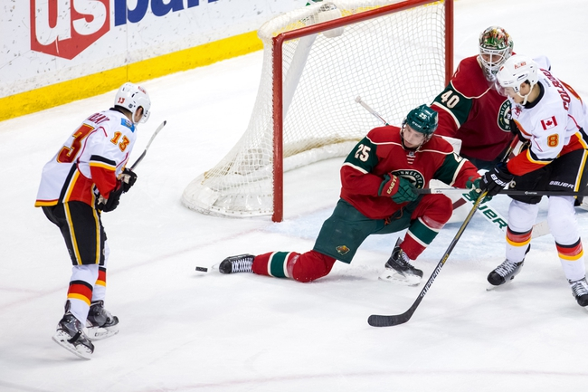 Flames vs. Wild - 2/17/16 NHL Pick, Odds, and Prediction