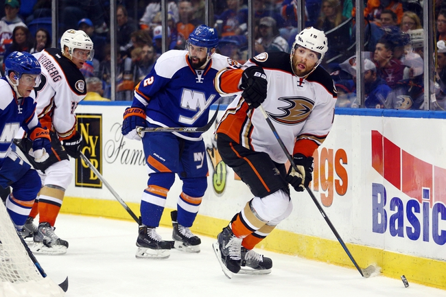 Anaheim Ducks vs. New York Islanders - 11/13/15 NHL Pick, Odds, and Prediction