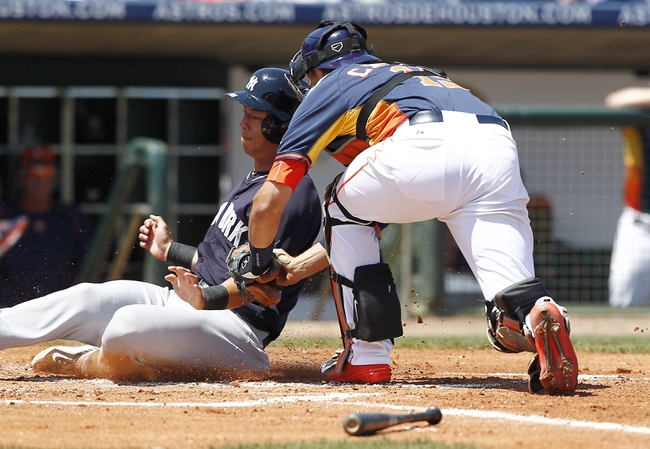 Astros vs. Yankees - 6/25/15 MLB Pick, Odds, and Prediction
