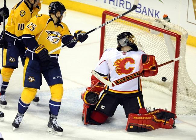 Nashville Predators vs. Calgary Flames - 12/15/15 NHL Pick, Odds, and Prediction