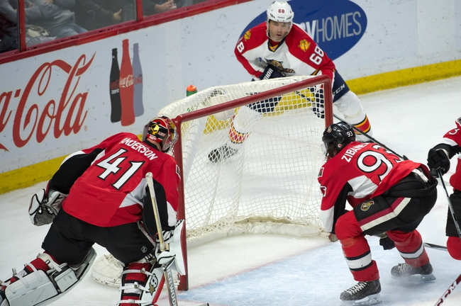 Florida Panthers vs. Ottawa Senators - 12/8/15 NHL Pick, Odds, and Prediction