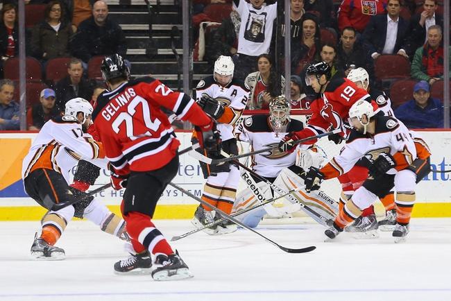 Ducks vs. Devils - 3/14/16 NHL Pick, Odds, and Prediction