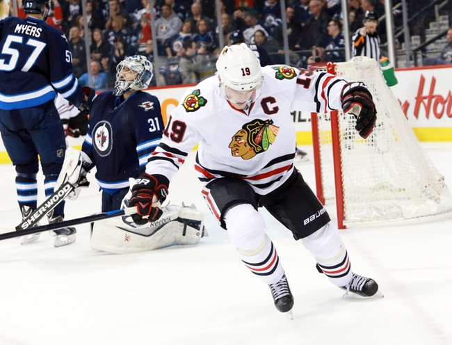 Winnipeg Jets vs. Chicago Blackhawks - 10/29/15 NHL Pick, Odds, and Prediction