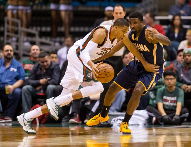 Pacers vs. Bucks - 11/21/15 NBA Pick, Odds, and Prediction