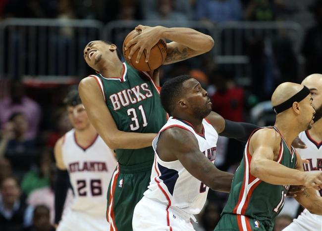 Bucks vs. Hawks - 1/15/16 NBA Pick, Odds, and Prediction